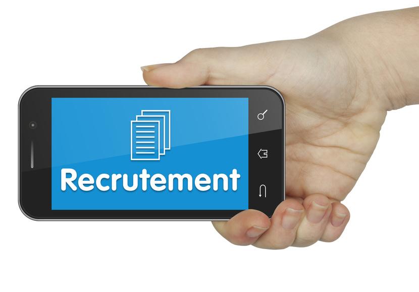 Recrutement. Mobile