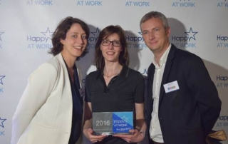 FM LOGISTIC REÇOIT LE LABEL HAPPY AT WORK FOR STARTERS 2016