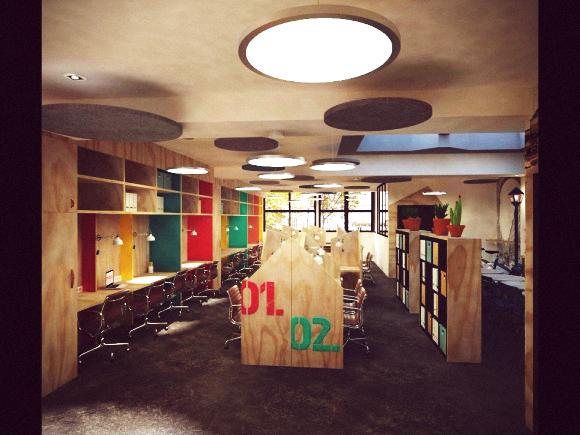 Twinin Around  est un nouvel espace qui propose une expérience  de co-coworking inédite